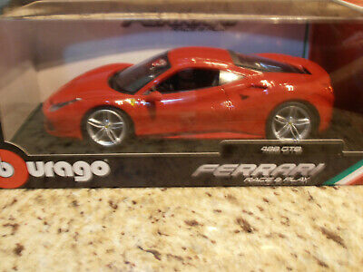"CM-Model /""Martini/"" Ferrari 488 GTB LB Performace 1:64 Diecast Car CM64-488-2"