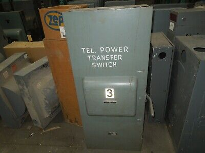 Trumbull 70326 600a 3ph 3p 240vac Double Throw Non-fused Manual Transfer Switch