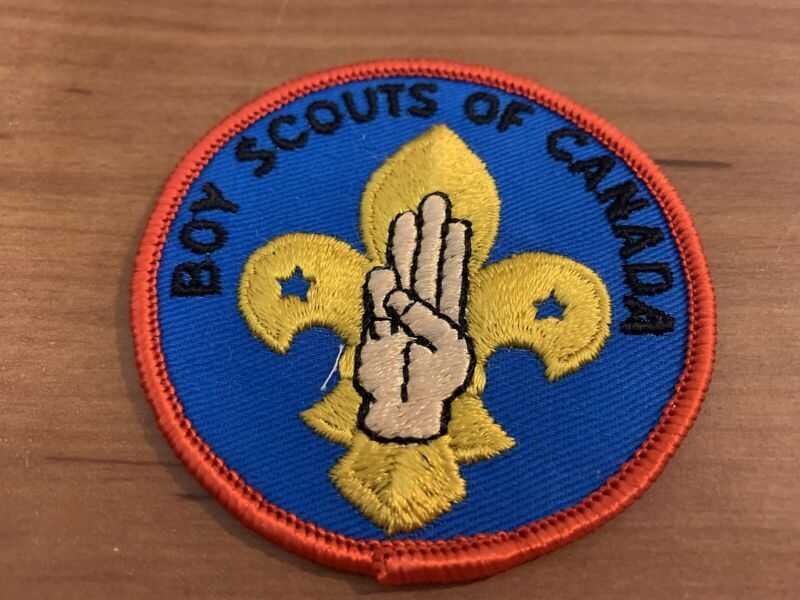 1960's Boy Scouts of Canada Scout Sign Program Badge or Patch