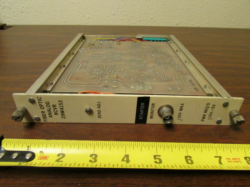 Fiber Optic Analog Receiver 29W4153 NIMBIN CAMAC