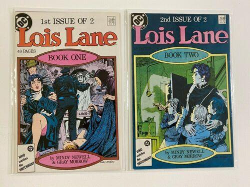 Lois Lane set #1+2 6.0 FN (1986)