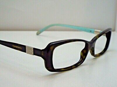 fe4e4e76a1fa Authentic Tiffany   Co. TF 2070B 8015 Havana Tiffany Blue Eyeglasses Frame   390