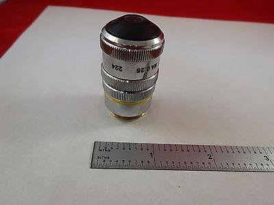 Microscope Part Objective Pst 10x Dark Phase Optics As Is Binr2-c-15
