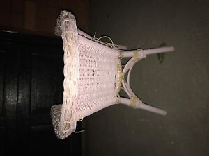 Free girls wicker chair excellent for renovations Lane Cove Lane Cove Area Preview