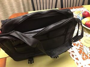 Black Leather Like Briefcase/Laptop Bag
