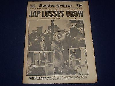 1945 May 30 New York Sunday Mirror   Jap Losses Grow   Gen  Kessler   Np 1805