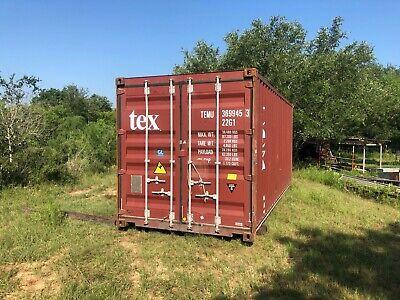 Used 40 Dry Van Steel Storage Container Shipping Cargo Conex Seabox Miami