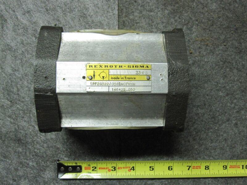 REXROTH 1PF2G322/038LN07VHN SIGMA GEAR PUMP