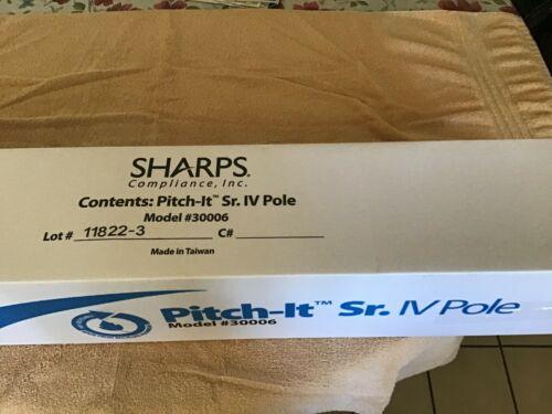 Sharps Medical  IV Pole.