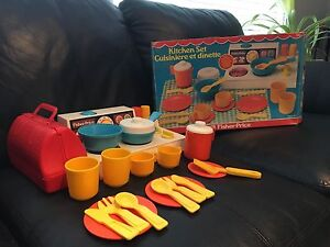 Fisher price kitchen set from 1978