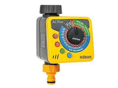 Hozelock Automatic Garden Auto Water Computer Timer Plus - Yellow and Grey