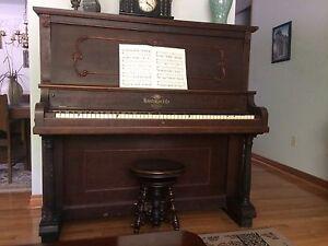 Antique piano (Heintzman and co.)