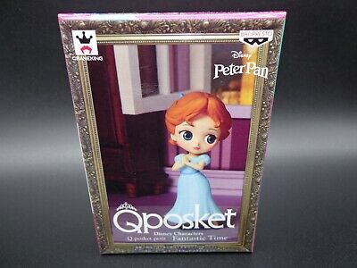 Banpresto Q Posket Petit Disney Characters Figure Fantastic Time Peter Pan Wendy