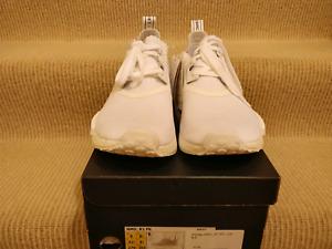Adidas NMD R1 Japan Triple White, UK8.5/US9