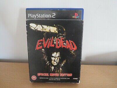 PlayStation 2 Evil Dead Special Edition A Fistful Of Broomstick & Evil Dead 2  segunda mano  Embacar hacia Spain