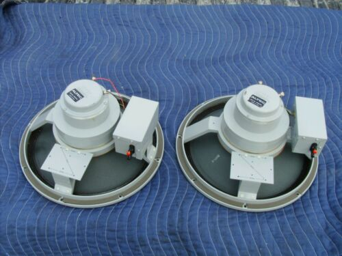 ALTEC LANSING MODEL 616 8A DUPLEX PAIR OF SPEAKERS (WORKING ORDER)