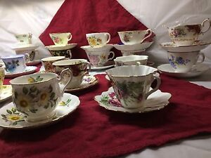 Over 50 tea cups and saucers!!! Personal collection!!!