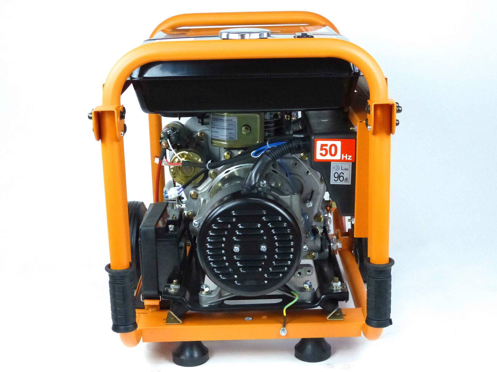 knappwulf diesel stromerzeuger kw5500 3 generator notstromaggregat 3 phase 400v eur 879 00. Black Bedroom Furniture Sets. Home Design Ideas