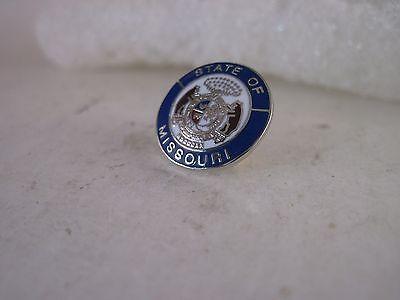 Missouri State Seal (Missouri     State   Seal cloisonne   lapel pin  (4ag15 3 ))
