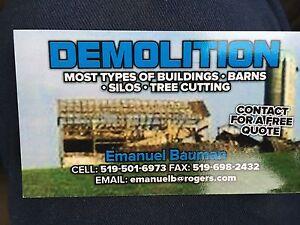 Barn demolition  Stratford Kitchener Area image 1