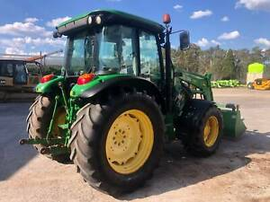John Deere Tractor 5820, FWA / 4WD A/C Cab -Tractor / FEL loader, Yass Yass Valley Preview