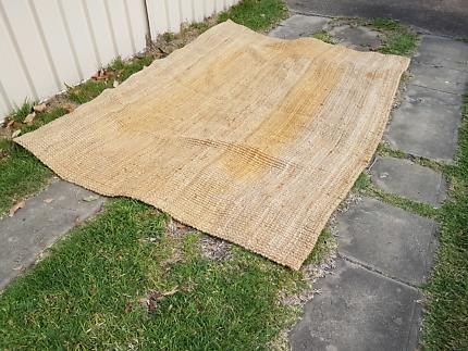 Natural tone Jute rug 2.5m x 1.8m