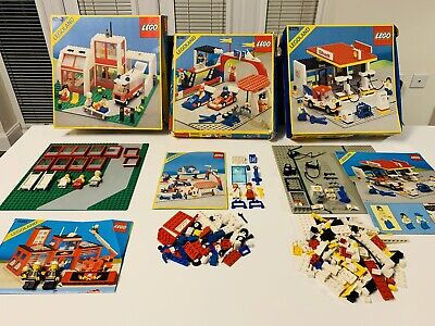 LEGO Classic Town Vintage Joblot Box Instructions READ DESCRIPTION Incomplete