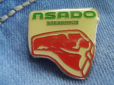 Anstecknadel Nadel Steakhaus Asado Steaks Steakhäuser limitierte Auflage