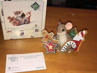 """Charming Tails """"THERE'S SO MUCH GOODNESS ALL AROUND YOU""""  DEAN GRIFF NIB"""