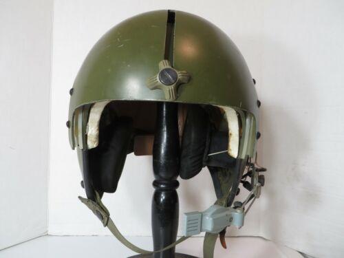 US Army Vietnam era UH-1D door gunner helmet.  Land Mfg 1968  MEDIUM