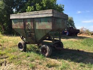 Wagon à grain 6 tons