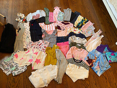 Girl Toddler clothes Lot Sizes 3T-5T