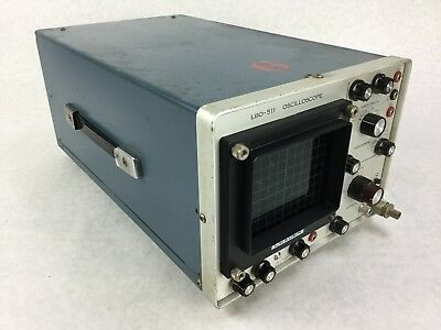 Leader Oscilloscope Lbo-511 Powers On Untested Free Shipping