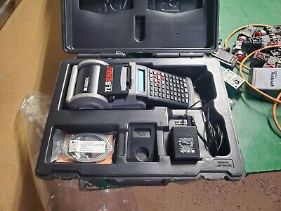 Brady Tls2200 Portable Label Maker Printer Battery Charger And Case