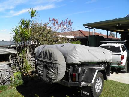 rugged offroad camper trailer Seven Hills Blacktown Area Preview