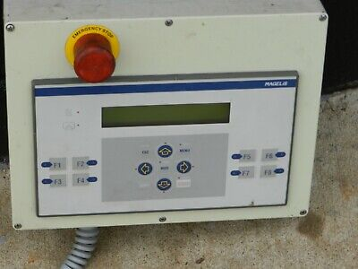 Magelis Telemecanique Xbtp011010 Operator Interface Panel In Closer Emg Stop
