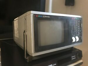 "Emerson 6"" Colour TV and Radio (collectible)"