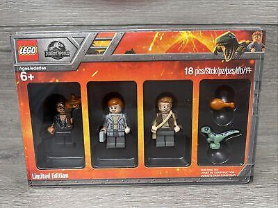 Lego Bricktober Jurassic World Limited Edition Minifigure Set 5005255 Brand NEW