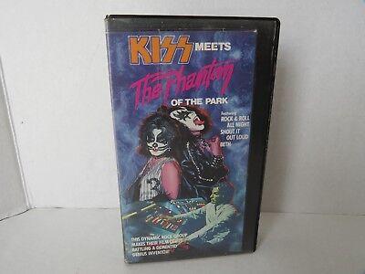 KISS Meets the Phantom of the Park VHS Horror Simmons Stanley Ace RARE - Stanley Park Halloween