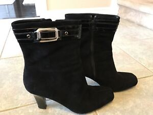 Women's size 12B Franco Sarto Suede Boots