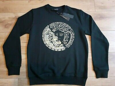 Mens Versace Jumper Size Small New With Tags