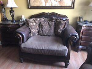 Ashley Couch and oversized chair set