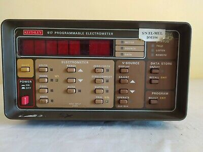 Keithley 617 Programmable Electrometer.