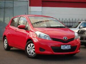 2013 Toyota Yaris YR AUTO Hatch *** LOW KMS *** $10,990 DRIVE AWAY Footscray Maribyrnong Area Preview