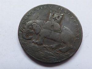 Coventry Half-Penny Token 1793 (myrefn3082B)