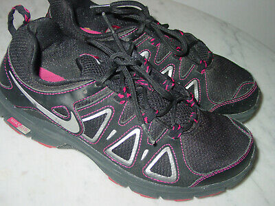 de0718ce3bc4ee 2012 Nike Air Alvord 10 Black Fireberry Trail Running Shoes! Size 9  109.95