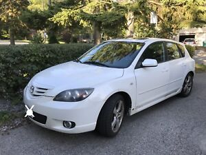 2006 Mazda 3 hatch winter ready winter tires