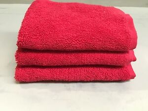 Red Egyptian Cotton face Cloths Mosman Mosman Area Preview