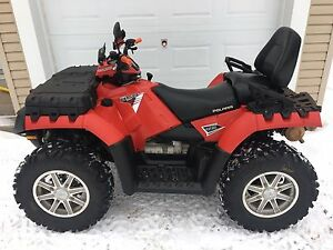 POLARIS SPORTSMAN TOURING 850ho EPS 2014. VRAIS DEUX PLACES
