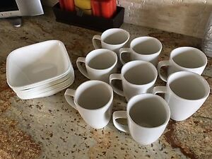 Corelle Bowls and Mugs